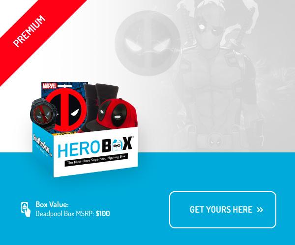 Deadpool Premium Hero Box