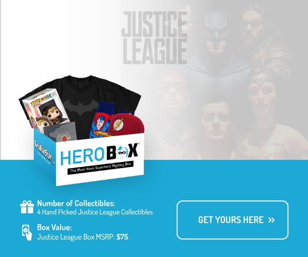 Justice League Classic Hero Box