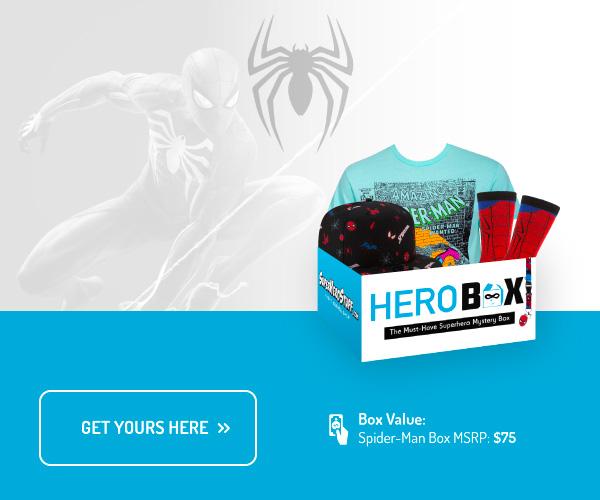 Spider-Man Hero Box