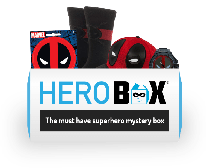 Deadpool Herobox