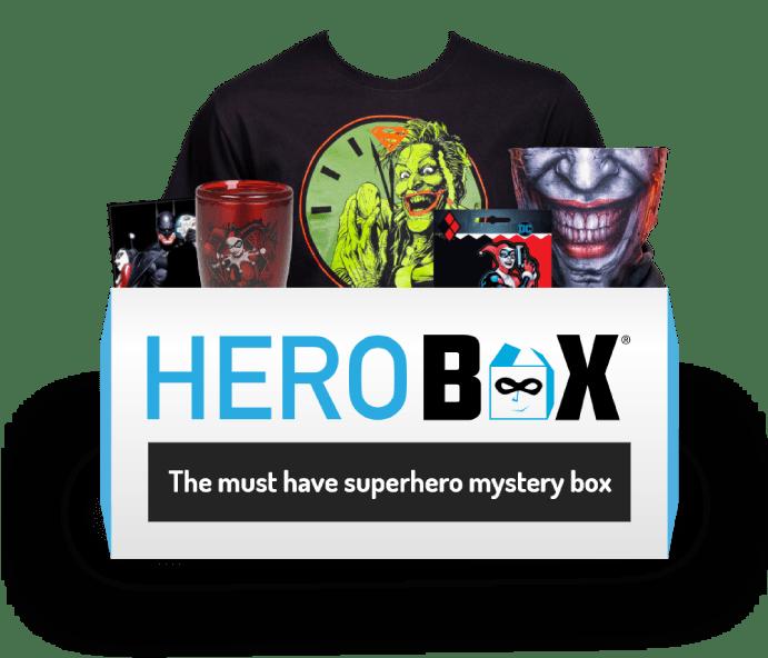 Harley Quinn & Joker Herobox