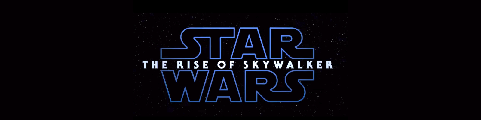 Star Wars - The Rise Of Skywalker Banner