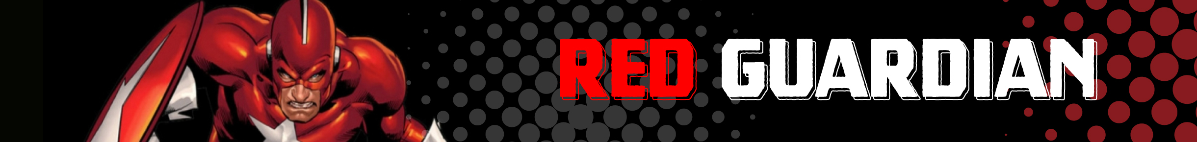Red Guardian Merchandise Banner
